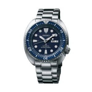 Prospex Diver Turtle Stainless Steel / Blue / Bracelet