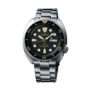 Prospex Diver Turtle Stainless Steel / Black / Bracelet