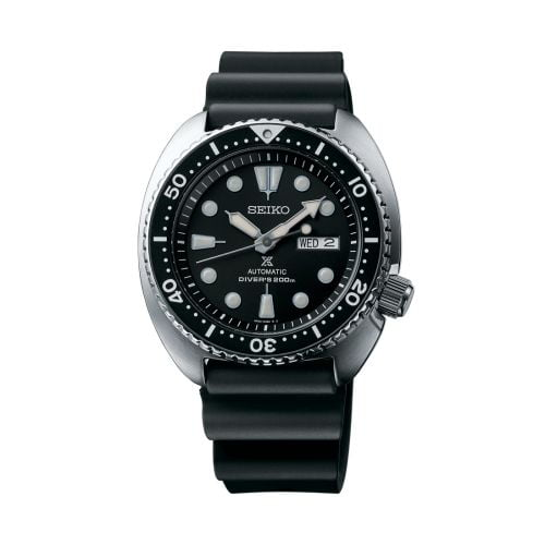 Prospex Diver Turtle Stainless Steel / Black / Rubber