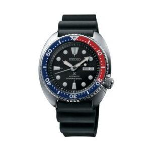 Prospex Diver Turtle Stainless Steel / Black / Rubber / Pepsi
