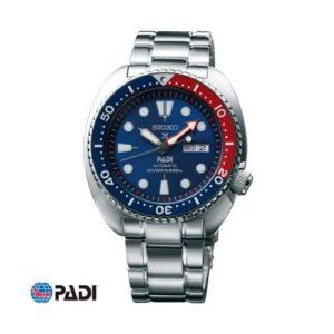 Prospex Diver Turtle Stainless Steel / Blue / Bracelet / Padi