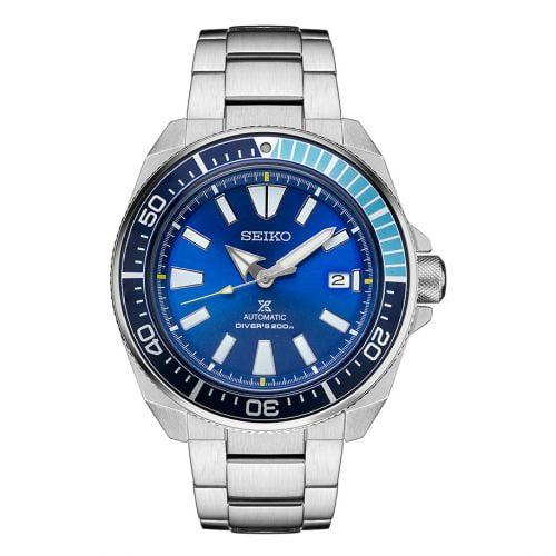 Prospex Diver Samurai Stainless Steel / Blue Lagoon / Bracelet