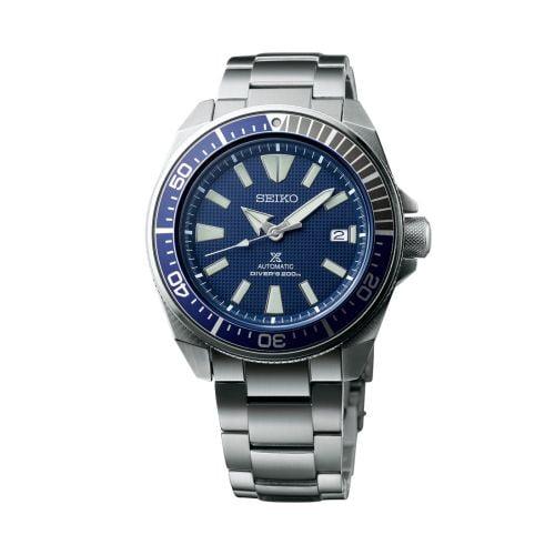 Prospex Diver Samurai Stainless Steel / Blue / Bracelet