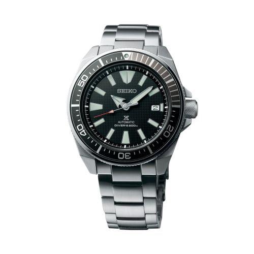 Prospex Diver Samurai Stainless Steel / Black / Bracelet