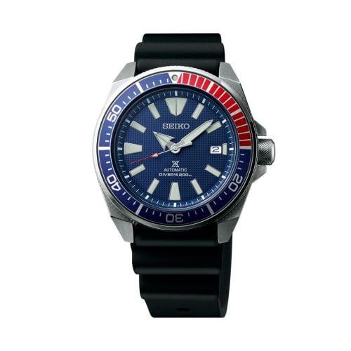 Prospex Diver Samurai Stainless Steel / Blue / Rubber