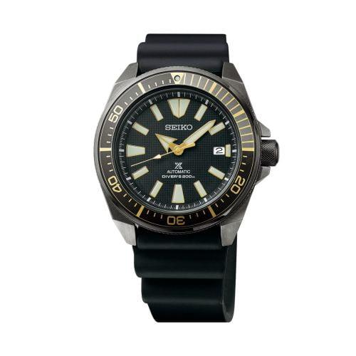 Prospex Diver Samurai Stainless Steel / Black / Rubber