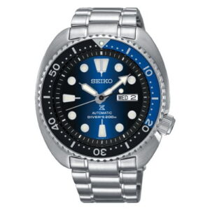 Prospex Diver Turtle Stainless Steel / Blue Gradient / Bracelet