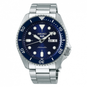 5 Sports Sports Style Stainless Steel / Blue / Bracelet