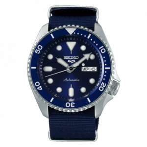 5 Sports Sports Style Stainless Steel / Blue / NATO