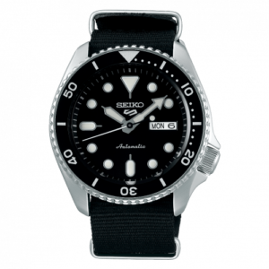 5 Sports Sports Style Stainless Steel / Black / NATO