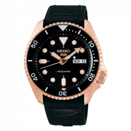 5 Sports Specialist Style Rose Gold / Black / Rubber