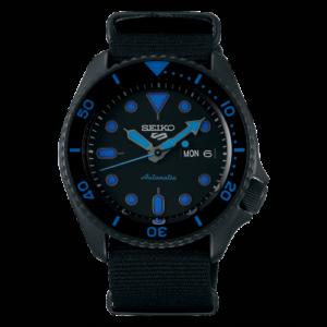 5 Sports Street Style Hard Coating / Black - Blue / NATO