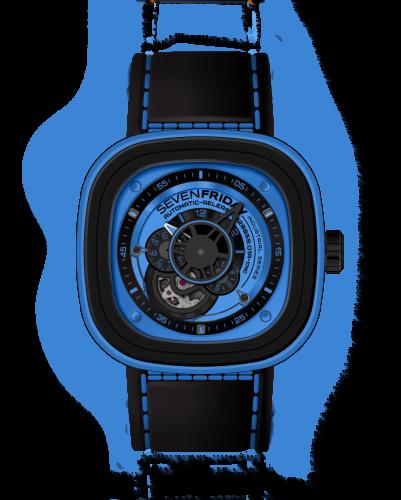 P1/04 Industrial Essence Blue