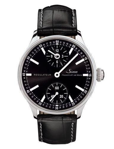 Classic Timepieces Regulateur Technik Stainless Steel / Black