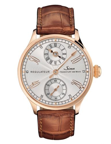 Classic Timepieces Regulateur Rose Gold / Silver