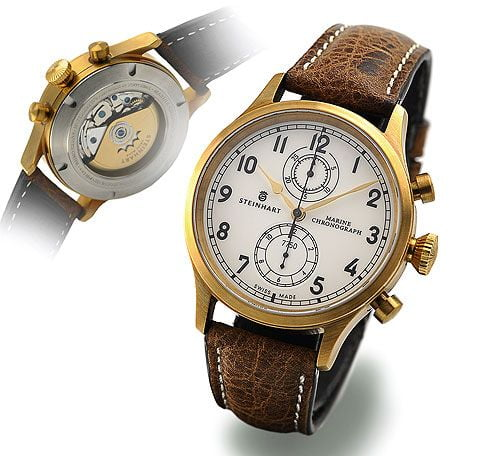 Marine Chronograph Bronze Premium