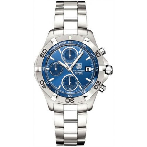 Aquaracer 300M Calibre 16 41 Stainless Steel / Blue / Bracelet