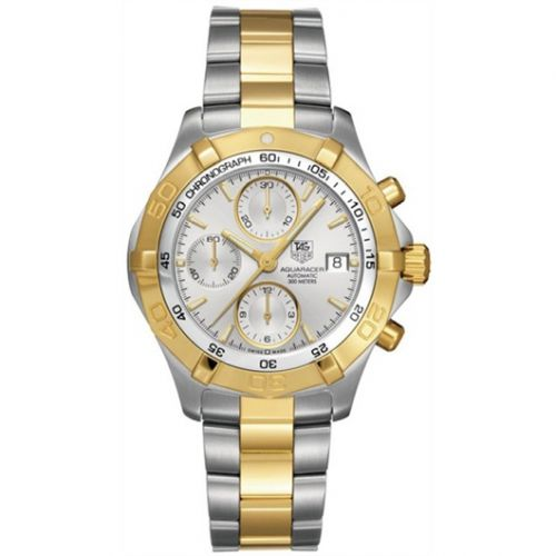 Aquaracer 300M Calibre 16 41 Stainless Steel / Yellow Gold / Silver / Bracelet