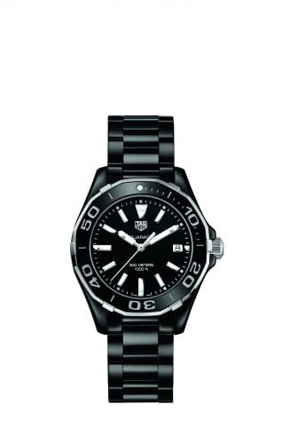 Aquaracer 300M 35 Ceramic / Black / Bracelet