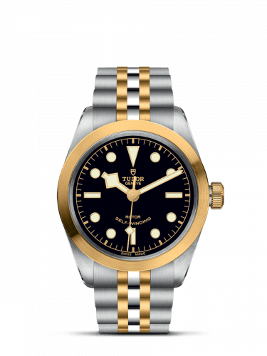Heritage Black Bay 36 S&G / Black / Bracelet