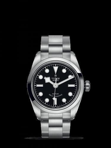 Heritage Black Bay 32 Stainless Steel / Black / Bracelet