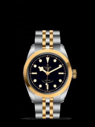 Heritage Black Bay 32 S&G / Black / Bracelet