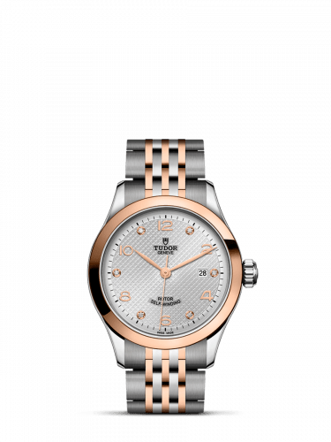 1926 28 Stainless Steel / Rose Gold / Silver - Diamond