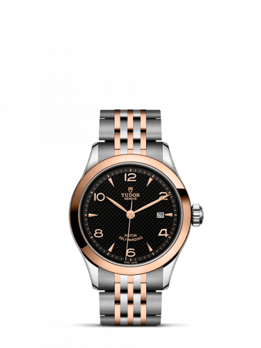 1926 28 Stainless Steel / Rose Gold / Black