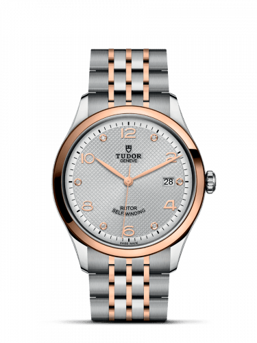 1926 39 Stainless Steel / Rose Gold / Silver - Diamond