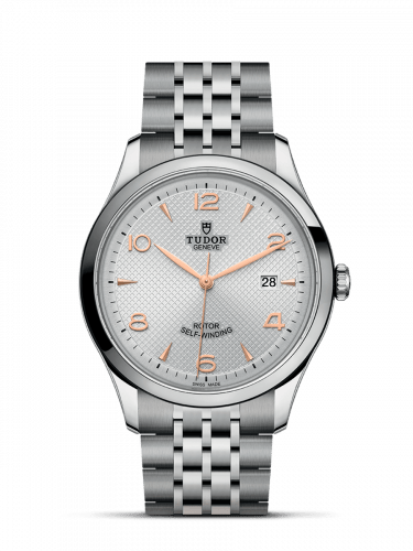 1926 41 Stainless Steel / Silver