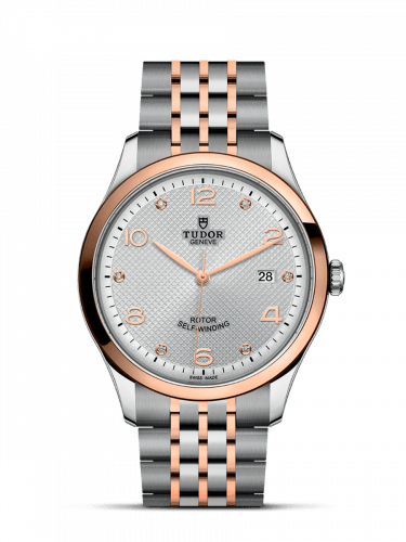 1926 41 Stainless Steel / Rose Gold / Silver - Diamond