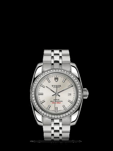 Classic 28 Stainless Steel / Diamond / Silver / Bracelet