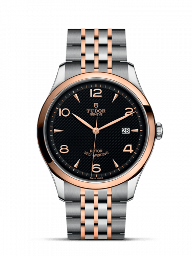 1926 41 Stainless Steel / Rose Gold / Black