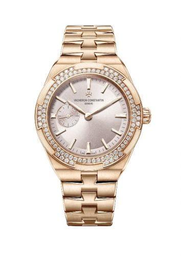 Overseas Small Pink Gold / Beige / Bracelet
