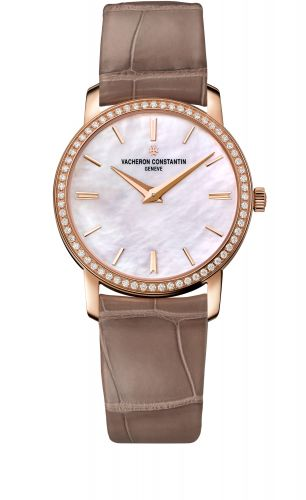 Traditionnelle Quartz Pink Gold / Diamond / MOP