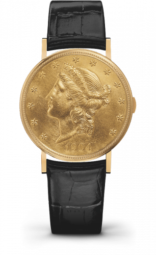 Métiers d'Art 20$ Openworked Coin Watch