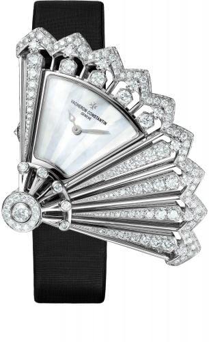 Heures Créatives Heure Discrète White Gold / Diamond / Diamond