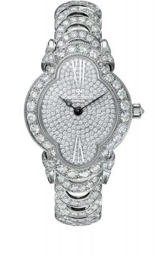 Heures Créatives Romantique White Gold / Diamond / Diamond / Bracelet