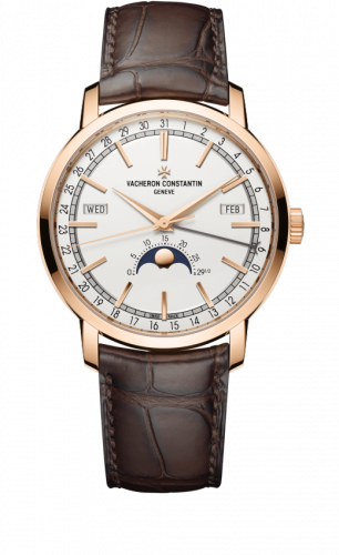Traditionelle Complete Calendar Collection Pink Gold / Silver