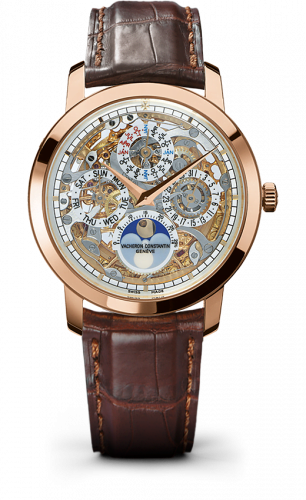 Traditionnelle Perpetual Calendar Openworked