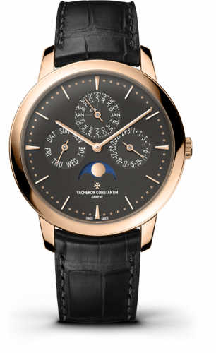 Patrimony Perpetual Calendar Pink Gold / Anthracite