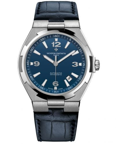 Overseas Automatic Stainless Steel / Blue