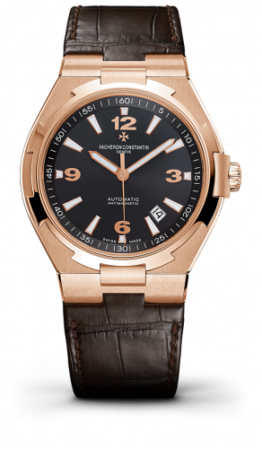 Overseas Automatic Pink Gold / Black