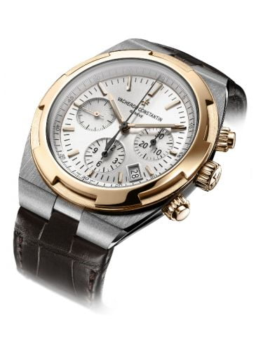 Overseas Chronograph Stainless Steel / Pink Gold / Silver