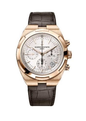 Overseas Chronograph Pink Gold / Silver