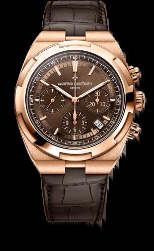 Overseas Chronograph Pink Gold / Brown / Bracelet