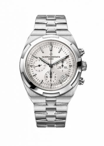Overseas Chronograph Stainless Steel / Silver