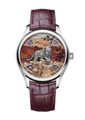 Les Cabinotiers Les Cabinotiers Imperial Tiger White Gold / Red Wood