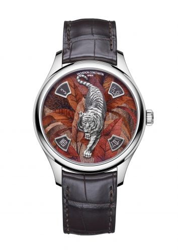 Les Cabinotiers Majestic Tiger White Gold / Red Wood