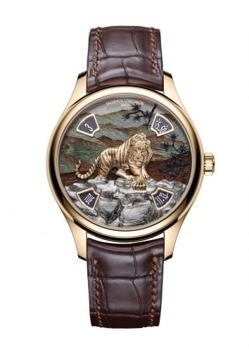 Les Cabinotiers Les Cabinotiers Imperial Tiger Pink Gold / Green Wood